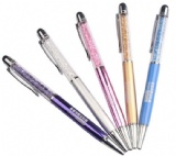 CRYSTAL PEN WITH TOUCH FUNCTION
