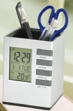 PENHOLDER WITH LCD CLOCK
