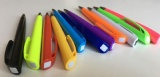 twist type plastic promo pen